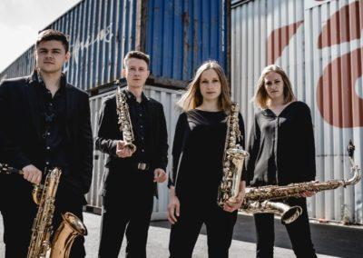 Hochzeitsband und Instrumentalisten Krefeld Multiphonic Saxophon-Quartett