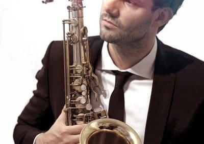 Instrumentalist für Hochzeiten Max Rademacher Hamburg mit Saxophon