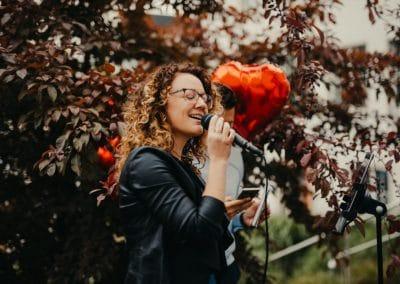 Hochzeitssängerin Alpen Marilyne Bäjen Live