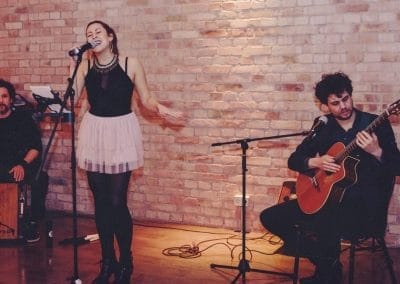 Hochzeitssängerin Berlin Laura Luppino Trio Live