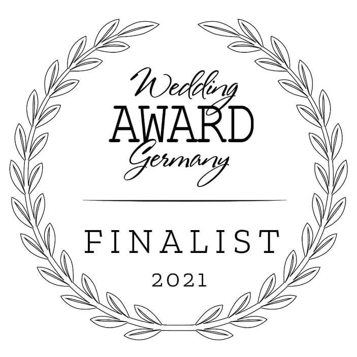 Wedding Award Germany 2021 Finalisten Logo