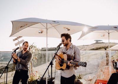 Hochzeitssänger München Amistat Duo Live mit Gitarre